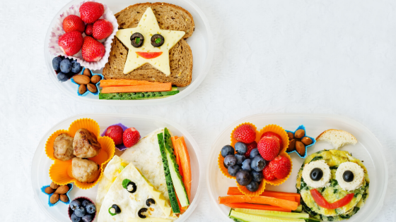 Tips for kids healthy lunches….